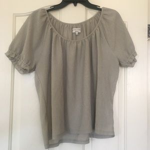 Madewell Texture & Thread Short Sleeve Top